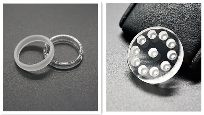 Custom Sapphire Spacers and rings