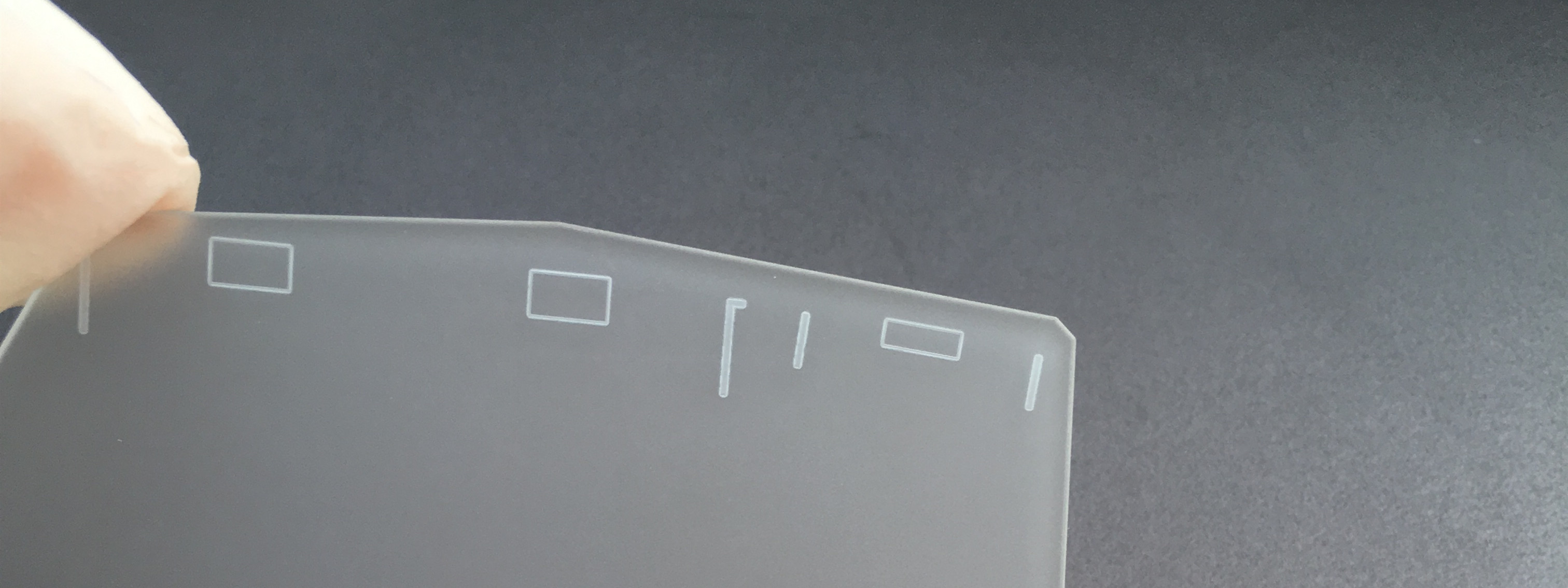 Glass micromachining including glass sand-blasting and cutting, engraving